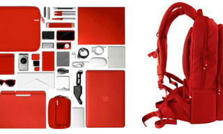 Incase Red Nylon Collection