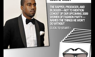 Kanye West – 10 Style Essentials