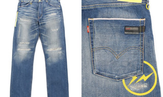 Levi's Fenom Light oz. Jeans Yellow Sunderys