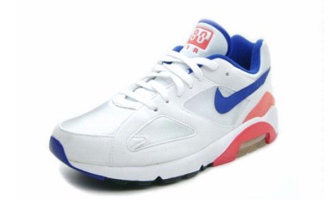 The much anticipated Nike Air Max 180 White/Ultramarine, the original  colorway, have been released. An all time classic in the Nike Air Max  range, ...