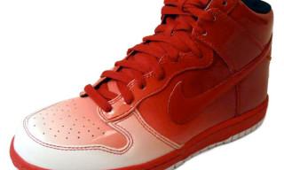 Nike Sportswear Fall 2009 Dunk Hi Supreme Spark   Gucci Colorway