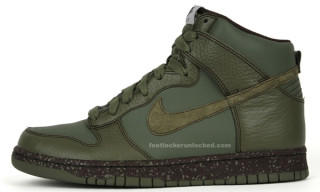 Nike Holiday 2009 Dunk Hi Urban Haze