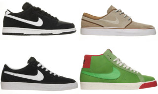 Nike SB July 2009 Releases | Blazer, Dunk Low, Bruin, Stefan Janoski