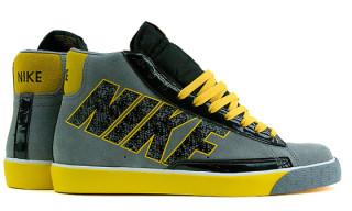 "Nike Fall 2009 ""Swooshless"" Blazer Hi"
