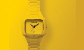 Nixon Rubber Player June 2009 | Yellow Colorway