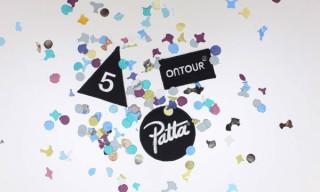 "Ontour x Patta ""5th Anniversary"" Crewneck"