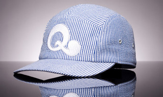 Quintin x Mr. 44 5 Panel Seersucker Cap
