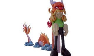Upper Playground x Sam Flores Dragon Boy Figure