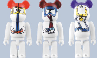 "Medicom x Stussy x Reas ""Wayback Throwback"" Bearbricks"