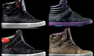 Supra Fall 2009 Footwear | Skytop, Vaider, Suprano Hi