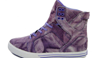 Supra Fall 2009 Skytop Purple Tie-Dye