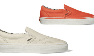 Vans Vault Fall 2009 Slip-On Wingtip LX
