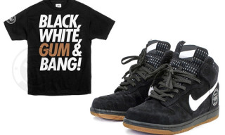 "A.R.C. x Nike Dunk High ""Black, White, Gum & Bang!"" Release"