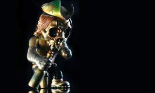 Pushead Skull Captain Figure | SDCC 2009 Exclusive