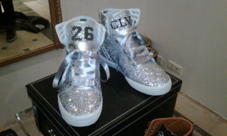 Lil Wayne's Custom Supra Skytops by CLVII Store