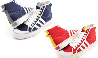 adidas Nizzi Hi Navy/White & Red/White