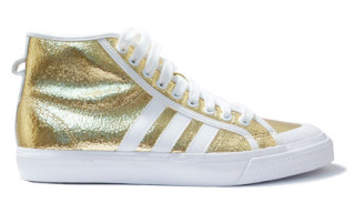 "adidas Fall 2009 Nizza Hi ""Gold Crackle"""