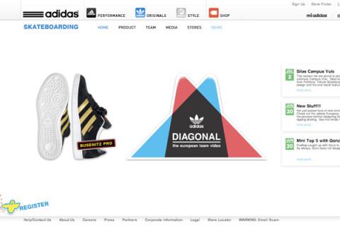 adidas european website