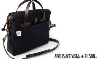 Apolis Activism x Filson Philanthorpist Briefcase Available