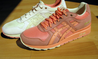 "Bread & Butter x Asics GT Lyte II ""Salmon & Butter"" Pack"
