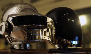 Daft Punk x Silly Thing 1000% Kubrick Heads