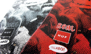 "Huf x Real ""Collabo"" Skate Decks"