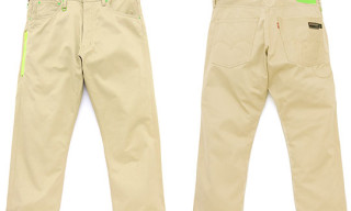 Levi's Fenom Cropped Chino Green Sundries