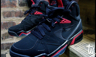 Nike Spring 2010 Air Hoop Structure Black/Red