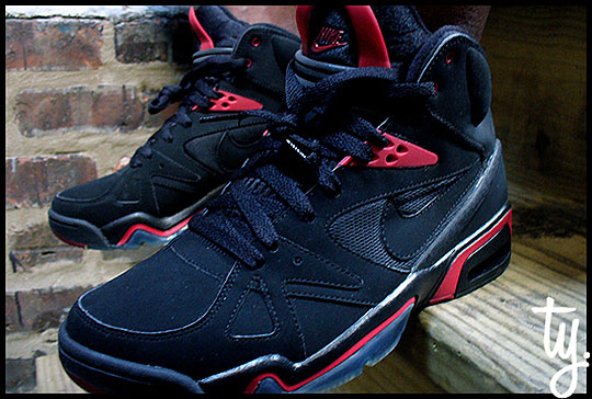 new style 89bf0 3c14d lovely Nike Spring 2010 Air Hoop Structure Black Red Highsnobiety