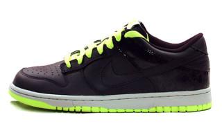 Nike Dunk Low CL ND Purple/Lime Splatter