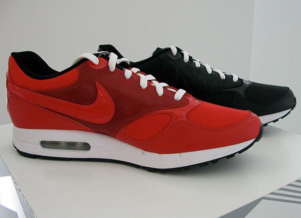 nike fall 2009 air max 1 red black