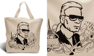 Pattern People Tote Bags | Karl Lagerfeld And Marc Jacobs
