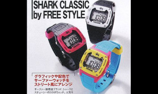 Stussy x Shark Classic Watches