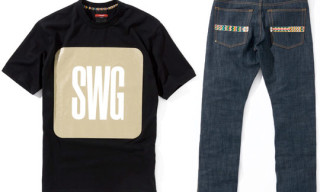 Swagger x Samurai Magazine 10th Anniversary T-Shirt And Denim
