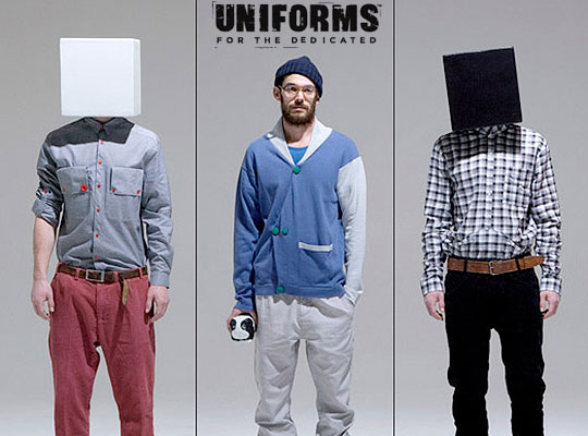 Uniforms Of The Dedicated Fall/Winter 2009 Collection ...