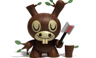 Amanda Visell x Kidrobot Wood Donkey Dunny