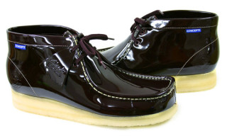 Concepts x Clarks Wallabee   Patent Leather Pack