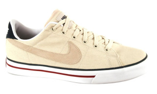 Nike Court Low Tan Canvas
