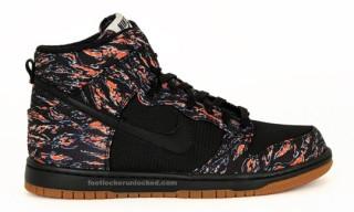 Nike Dunk High Black/Black/Sail