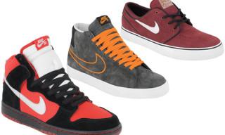 Nike SB September 2009 Releases    Dunk Hi, Blazer Hi, Stefan Janoski