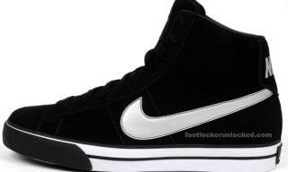 Nike Sweet Classic Mid Black/Metallic Silver