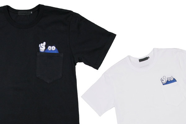 original fake x colette pocket t shirt highsnobiety. Black Bedroom Furniture Sets. Home Design Ideas