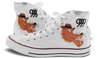 """Peanut Butter Wolf x Converse Chuck Taylor Hi """"999"""""""