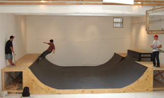 Quiksilver Pop-Up Shop & Mini-Ramp @ 201 Mulberry