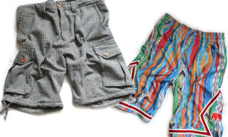 UNDRCRWN Summer 2009 Cut & Sew Shorts