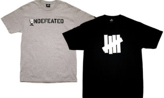 Undefeated Strikes & U-Stencil Tees
