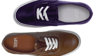 Vans Vault Spring 2010 Authentic LX | A First Look
