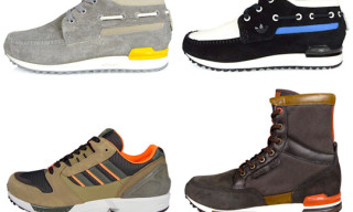 adidas Originals Fall 2009 Footwear | ZX 700 Boat, ZX 700 Winter Hi, ZX 8000