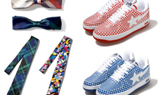 Bape Fall 2009 Collection | Bow Ties, Ties And Check Bapestas