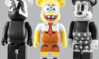 Medicom Bearbrick August 2009 Update | SpongeBob, Columbia, Mickey Mouse & More